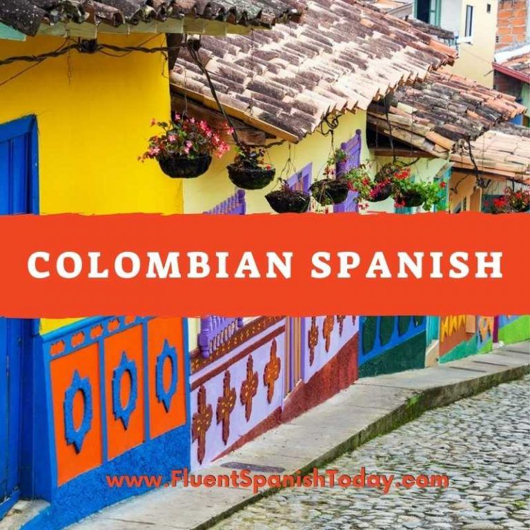 Spanish language in colombia